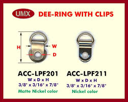 d ring clips