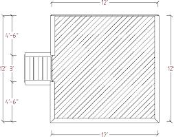 screened deck plans