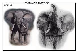 elephant tattoos pics