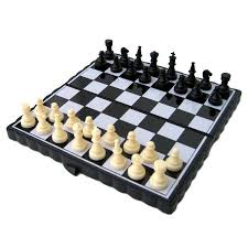 chess game set up
