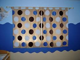 boy room curtains