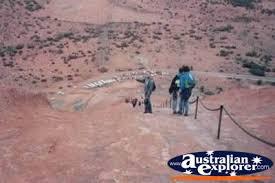 climbing ayers rock