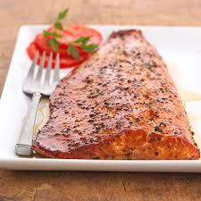 smoked salmon filet