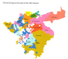 map of germany 1800
