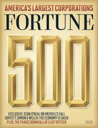 The FORTUNE 500 ranks