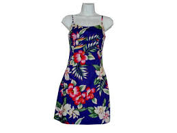 hawaiian party dress