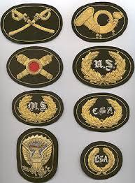 confederate badges