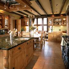 rustic country kitchens