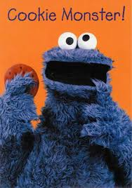 cookie monster birthday cards