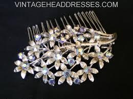 vintage hair brooch