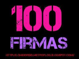 100 firmas de metroflog