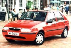 mazda 121 1999