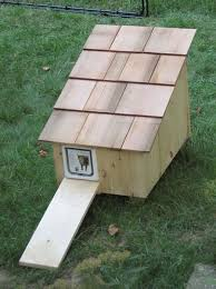outdoor cat housing