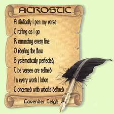 love acrostic poem