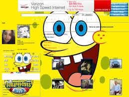 spongebob squarepants layouts