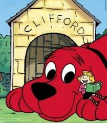 clifford the big red