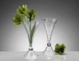 fluted vases