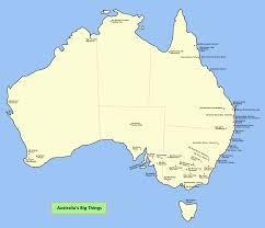big map of australia