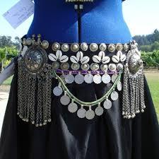bellydance coin belt