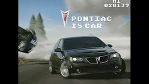 pontiac commercials