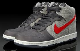 nike dunk high grey