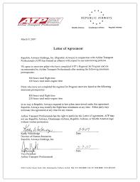 job agreement