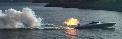 jet propelled boat