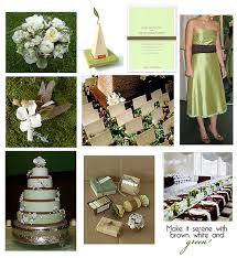 brown and green wedding invitations