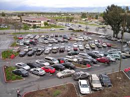 car parking at