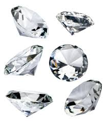 diamonds silver