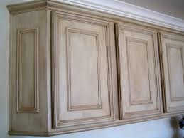 antiquing white cabinets