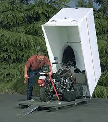 motorcycle container