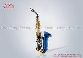 curved soprano saxaphone