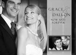 photo wedding announcements