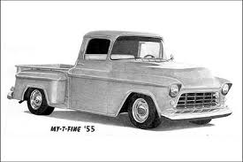 55 chevy pickup
