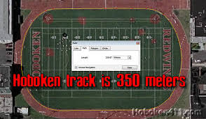 running track size