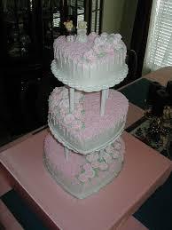 heart wedding cakes