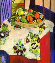 matisse still life with oranges