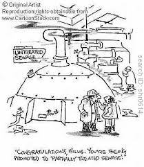 sewage workers