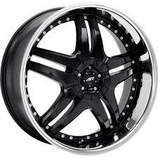 black car rims