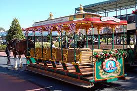 disney trolleys