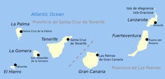 wyspy kanaryjskie mapa