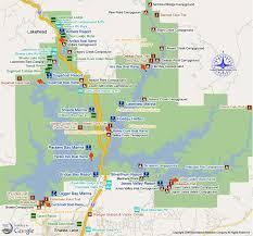 map of lake shasta