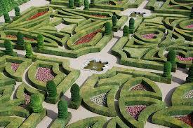formal french gardens