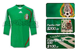 playeras de la seleccion mexicana