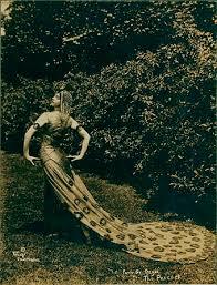 art nouveau peacocks