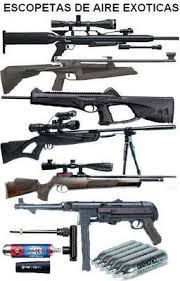 escopetas de aire