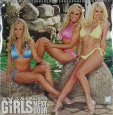 2009 girls next door calendar