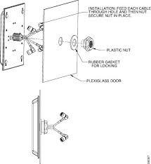 plexi glass doors