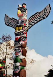 pacific northwest totem poles